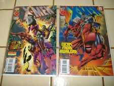 2-Lot X-Men # 42 & 43 * The Fall of Escape from Avalon colossus magneto