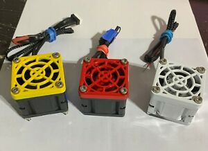 "GCRC NEW ""Power Glides V2"" Single high flow RC cooling fans ""NOW ARE RTR"""
