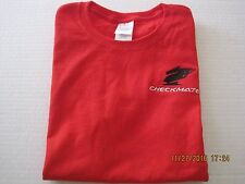 Red TShirt Size S Checkmate Knight Boat Logo S/S 100% Ultra Cotton New!