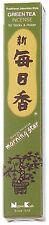 NIPPON KODO Morning Star - Encens Japonais - THE VERT 50 bâtons + porte-encens