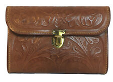 Vintage Acme Leather Products Purse Western Cowboy Rare Hand Tooled