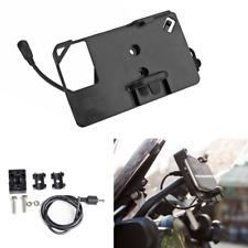 USB GPS Phone Charger Mount Bracket for BMW F700/800GS R1200GS Honda CRF1000L