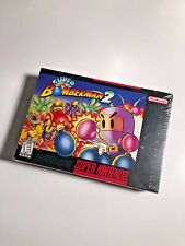 Super Bomberman 2 - BRAND NEW & FACTORY SEALED Nintendo NES SNES