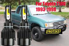 LED T100 1993-1998 Headlight Kit H4/9003 HB2 6000K White CREE Bulbs Hi/Low Beam