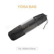 Portable Yoga Mat Carry Bag Mesh Center Adjustable Strap Nylon Yoga Carrier