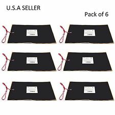 """Facon 6pcs 12"""" x 18"""" RV Camper Trailer Water Tank Heater Pad Automatic Therma"""