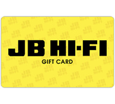 JB Hi-Fi Gift Card $30 $50 or $100 - Email Delivery