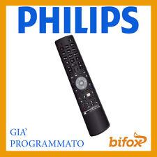 TELECOMANDO TV UNIVERSALE PHILIPS COMPATIBILE PROGRAMMATO PRONTO SMART LCD LED