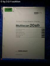 Sony Bedienungsanleitung GDM 20SHT Multiscan 20sh Graphic Display (#1398)