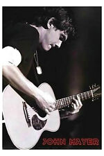 John Mayer Guitar Poster! CT Environmentalist Your body is a wonderland New