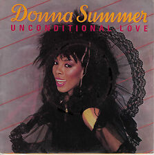 45TRS VINYL 7''/ FRENCH SP DONNA SUMMER / UNCONDITIONAL LOVE