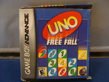 Uno Free Fall  BOXED NINTENDO Game Boy Advance