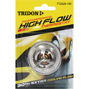 TRIDON HIGH FLOW Thermostat fit FOR MITSUBISHI PAJERO NB 11/84-11/85 4G54 2.6L