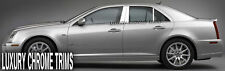 Cadillac STS Stainless Steel Chrome Pillar Posts by Luxury Trims 2008-2013 (6pc)