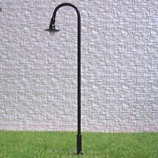 10 pcs O gauge Model Lampposts 12V Metal Street lights  #R33-O