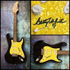 GFA The Golden Girls * BETTY WHITE * Signed Electric Guitar COA