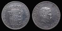pci1189) Napoli Regno delle Due Sicilie Ferdinando II Piastra 120 gr 1855