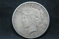 1923 S 90% Silver Peace Dollar (65)