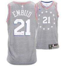 new style 9c189 ecca1 Joel Embiid NBA Original Autographed Jerseys for sale | eBay