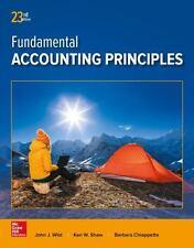 Fundamental of Accounting Principles New 23rd Edition