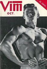 Vim October 1957, Vol.4 No.10, Vintage Gay Male Beefcake Magazine