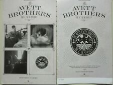 Avett Brothers 2012 The Carpenter 2 Sided Promo Poster Flawless New Old Stock