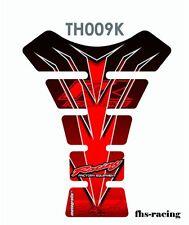 TH009K , MOTOGRAFIX - Tankpad , Tankprotektor , HONDA , rot , Top Qualität !