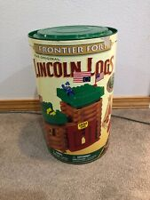 Lincoln Logs Frontier Fort Set