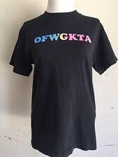 OFWGKTA ODD FUTURE TYLER THE CREATOR GOLF WANG Rainbow Letters Shirt UNISEX SZ S