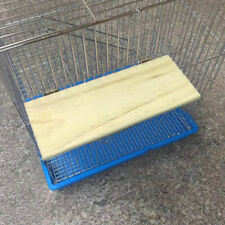New listing Wooden Cockatiel Parrot Bird Cage Perches Stand Platform-Pet Hanging Toy Bu B2Z5