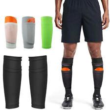 Sport Soccer Leg Shin Pads Guard Socks Football Calf Sleeves with Pocket