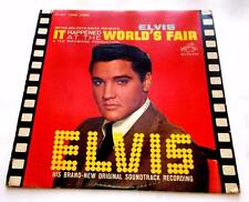Elvis Presley It Happened At The Worlds Fair 1963  RCA Victor LSP 2697 Stereo VG