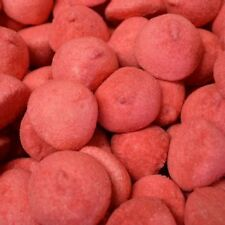 RED PAINTBALLS MALLOWS 900G BAG (APX 150) MARSHMALLOWS SWEETS PARTY WEDDINGS
