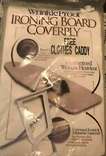 Vintage Ironees Ironing Board Cover & Pad Never Been Open Standard