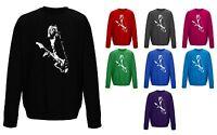Kurt Cobain Nirvana Iconic Rock Unisex Sweater Sweatshirt Jumper