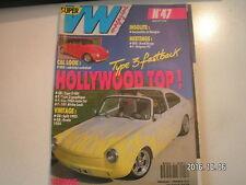 **c Super VW Magazine n°47 Type 3 Fastback / Split 1953 / Ovale 1954