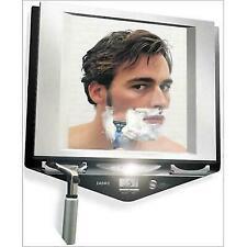 Zadro Fogless LED Lighted Fog Shower Mirror LCD Clock