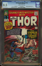 Journey into Mystery #114 CGC 8.5 OW/W Origin First appear Absorbing Man SA KEY