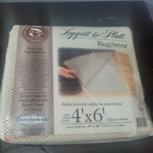 Non-Slip Cushion Pad Mat For Up to 4' x 6' Area Rugs Made in USA