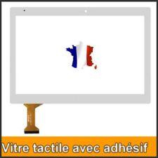 VITRE TACTILE TABLETTE POUR ECRAN LOGICOM M BOT TAB 101 BLANCHE