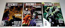 Secret Files & Origins #1 3 Ea No Man's Land, Villains, Day Judgment Free Ship