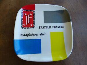 "CENDRIER VINTAGE BAKELITE  ITALIE ""FRATELLI FRANCHI  MANIFATTURE LANE MILANO"""