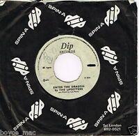 "UPSETTERS-enter the dragon   dip 7""     (hear)   reggae dub  lee perry"