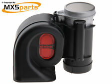 Stebel Truck Horn Black 12v for Cars and Motorcycles - Extremely Loud