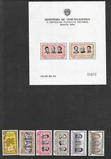 COLOMBIA Sc C275-80+C278a NH ISSUE OF 1955 - FAMOUS PEOPLE