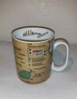 New Konitz Science Biology Mug Cup Cell Evolution DNA Photosynthesis Gift 15oz
