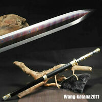 Chinese Folded T10 Steel Dragon & Phoenix 汉剑 Han Jian Sharp Electroplated Sword