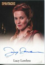 Spartacus Blood And Sand Autograph Card Lucy Lawless