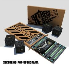 Extreme Sets Sector 09 SCI FI  Pop-Up Diorama Environment  for 1/12 scale