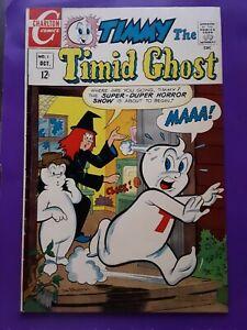 RARE 1967 Timmy The Timid Ghost #1 Fine (6.0) Charlton Comics Ghost Cartoon